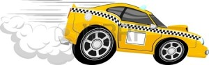 20358701-funny-fast-taxi-car-cartoon-isolated-on-white-background